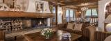 Courchevel 1850 Luxury Rental Chalet Nilia Living Room 3