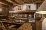 Courchevel 1850 Luxury Rental Chalet Nilia Living Room 5