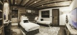 Courchevel 1850 Location Chalet Luxe Nilion Chambre Twin