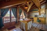 Courchevel 1850 Luxury Rental Chalet Tantalite Kitchen