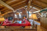 Courchevel 1850 Luxury Rental Chalet Tantalite Living Room