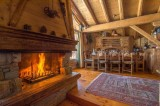 Courchevel 1850 Luxury Rental Chalet Tantalite Living Room 3