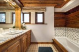 Courchevel 1850 Luxury Rental Chalet Tazuy Bathroom 2