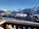 Courchevel Location Chalet Luxe Clairite Vue Paysage
