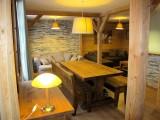 Huez Location Appartement Luxe Abenakite Salon