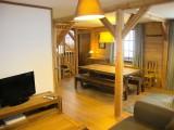 Huez Location Appartement Luxe Abenakite Séjour
