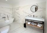 Ile Rousse Location Villa Luxe Iris Violet Salle De Bain