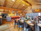 La Clusaz Location Chalet Luxe Lawsonite Cuisine Ouverte