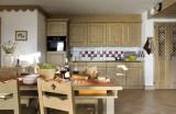 La Rosière Location Appartement Luxe Lynx Cyanite Cuisine