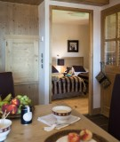 La Rosière Montvalezan Rental Apartment Luxury Lynx Onyx Bedroom 1