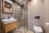 La Tania Luxury Rental Chalet Alta Bathroom