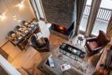 La Tania Luxury Rental Chalet Alta Living Room 2