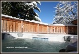 La Tania Location Chalet Luxe Counite Jacuzzi