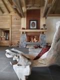 Le Grand Bornand Location Appartement Dans Résidence Luxe Leucite Duplex Réception