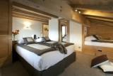 Le Grand Bornand Location Chalet Luxe Leonite Chambre2