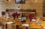 Les Deux Alpes Rental Chalet Luxury Cervantete Dining Room