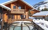 Les Deux Alpes Location Chalet Luxe Water Sapphire Piscine
