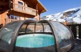 Les Deux Alpes Location Chalet Luxe Water Sapphire Piscine Extérieure