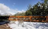Les Deux Alpes Location Chalet Luxe Wax Opal Terrasse