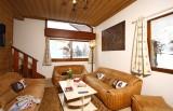 Les Deux Alpes Luxury Rental Chalet Wilsonite Living Room