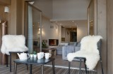 Les Gets Location Appartement Luxe Ancolie Balcon