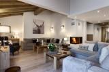 Les Gets Location Appartement Luxe Ancolie Séjour