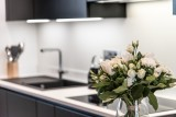 Les Gets Luxury Rental Appartment Andeme Kitchen