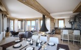 Les Gets Luxury Rental Appartment Andeme Living Room 2