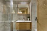 Les Gets Location Appartement Luxe Andime Salle De Bain 2