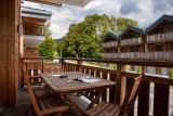 Les Gets Location Appartement Luxe Anrelle Balcon