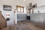 Les Gets Luxury Rental Chalet Anrolle Kitchen