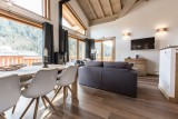 Les Gets Luxury Rental Chalet Anrolle Living Room 3