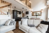 Les Gets Luxury Rental Chalet Anrulle Living Room 2