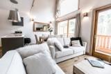 Les Gets Luxury Rental Chalet Anrulle Living Room 4