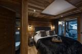 Les Gets Luxury Rental Chalet Gedrute Bedroom