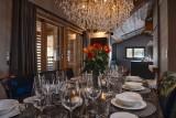 Les Gets Luxury Rental Chalet Gedrute Dining Room