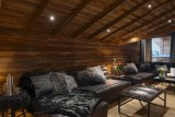 Les Gets Luxury Rental Chalet Gedrute Living Room 3