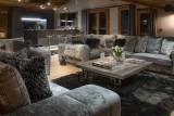 Les Gets Luxury Rental Chalet Gedrute Living Room 4