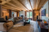 Les Gets Location Chalet Luxe Geigerite Coin TV 1