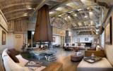 Les Houches Location Appartement Luxe Jacinthe Duplex Accueil