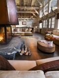 Les Houches Location Appartement Luxe Jacinthe Duplex Cheminée