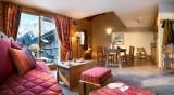 Les Houches Location Appartement Luxe Jacinthe Duplex Séjour