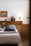 Les Menuires Location Appartement Luxe Acanta Chambre