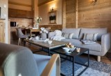 Les Menuires Luxury Rental Appartment Amine Living Room