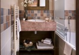 Les Menuires Luxury Rental Appartment Amini Bathroom