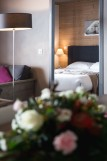 Les Menuires Location Appartement Luxe Calcine Chambre