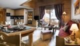 Les Menuires Location Appartement Dans Résidence Luxe Lobrodorite Salon