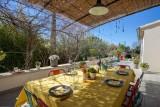 Luberon Location Villa Luxe Limutte Salle A Manger Extérieure