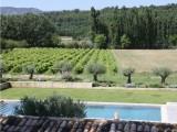 Luberon Luxury Rental Villa Lin Jaune View
