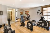 Megève Luxury Rental Chalet Cajolines Fitness Room
